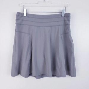 Athleta All Day Tennis/Golf Skort Gray Size 6